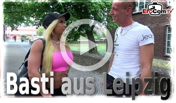 Basti from Leipzig with Lina-Fitness